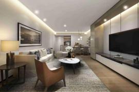 鉅星匯_珠海 橫琴鐵路上蓋物業 香港SOHO公寓商業廣場 (實景航拍)