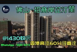 招商岸芷汀蘭_佛山|@1430蚊呎|香港高鐵60分鐘直達|香港銀行按揭 (實景航拍)